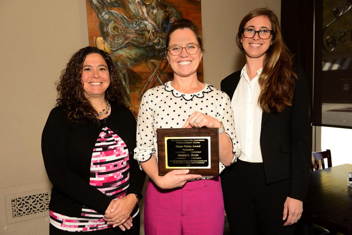 Attorney Jessica L. Rowe Honored by the Women Lawyers's Section of the San Mateo County Bar Association